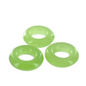 Glow in the Dark Love Rings - 3 selvlysende penisringe
