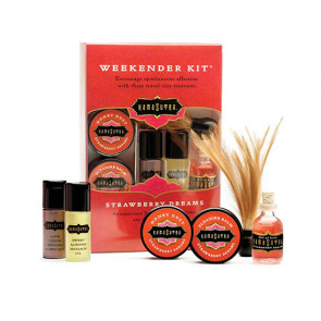 Weekend Kit fra Kamasutra -  Strawberry Dreams