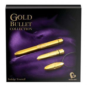 Rocks Off - Gold Bullet Collection vibrator